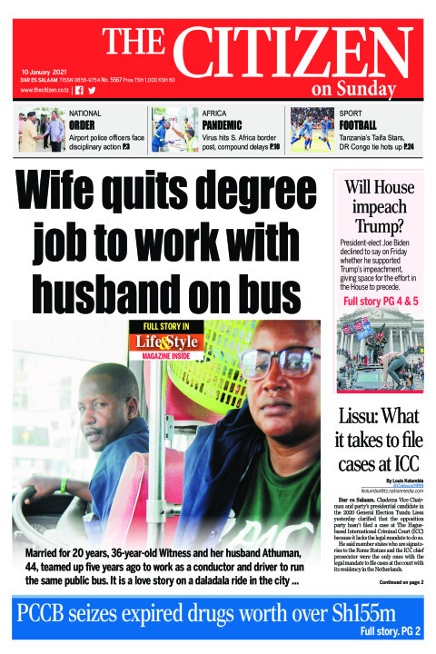 WIFE QUITS DEGREE JOB TO WORK WITH HUSBANDS