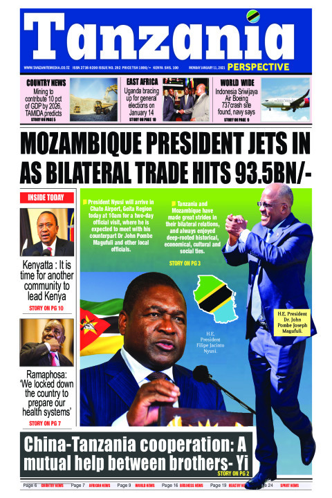 Mozambique President jets in as bilateral trade hits 93.5bn/ | Tanzania Perspective