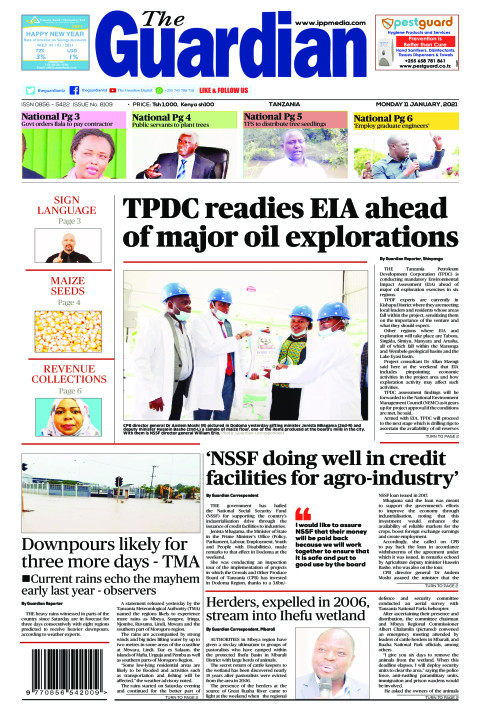 TPDC readies EIA ahead of major oil explorations | The Guardian