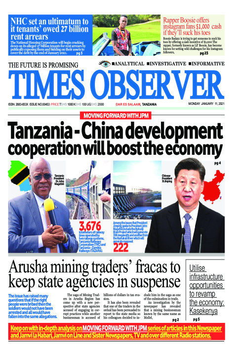 Tanzania - China development cooperation will boost the econ | Times Observer