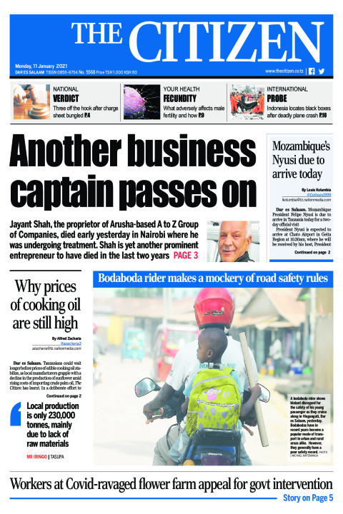 ANOTHER BUSINESS CAPTAIN PASSES ON | The Citizen