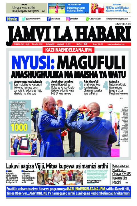 NYUSI: MAGUFULI ANASHUGHULIKA NA MAISHA YA WATU | Jamvi La Habari