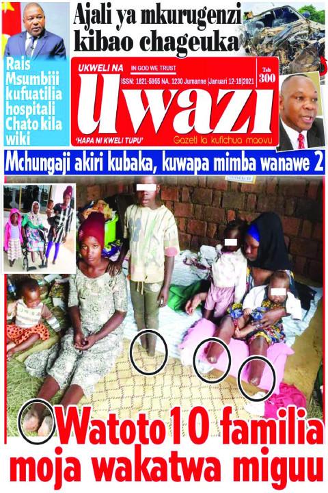 Watoto 10 familia moja wakatwa miguu | Uwazi