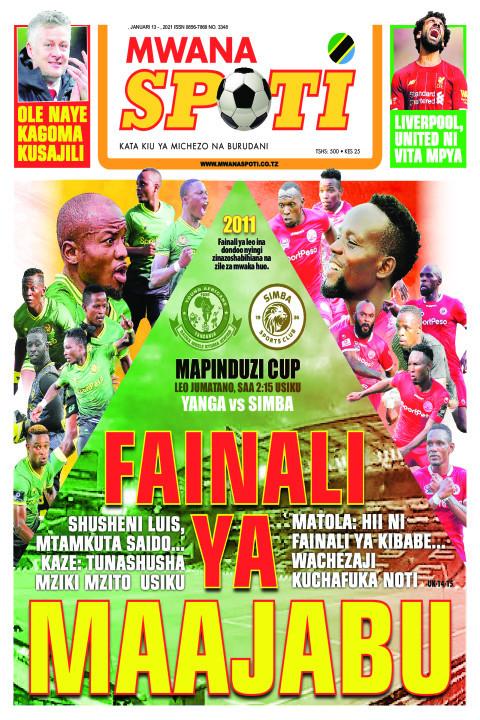 FAINALI YA MAAJABU  | Mwanaspoti
