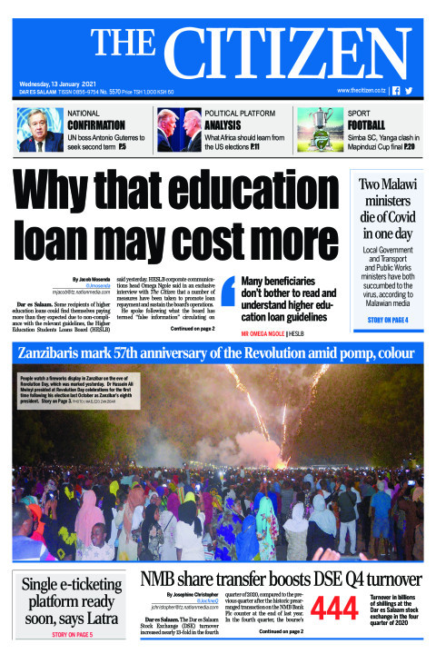 WHY THAT EDUCATION LOAN MAY COST MORE | The Citizen