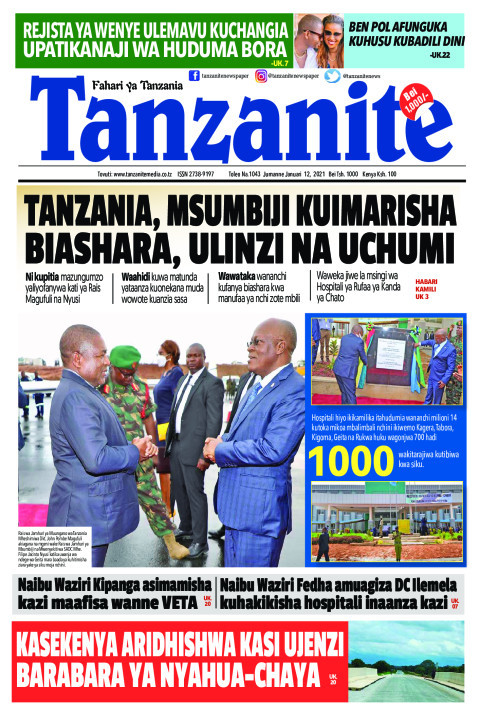 TANZANIA, MSUMBIJI KUIMARISHA BIASHARA, ULINZI NA UCHUMI | Tanzanite
