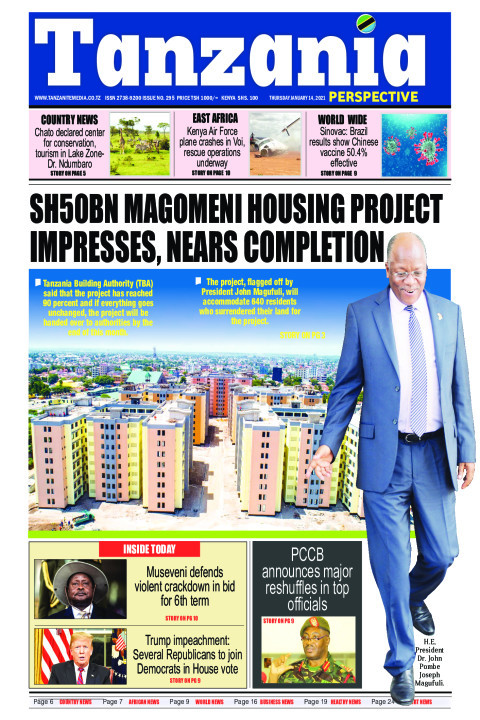 SH20BN MAGOMENI HOUSING PROJECT IMPRESSES, NEARS COMPLETION | Tanzania Perspective