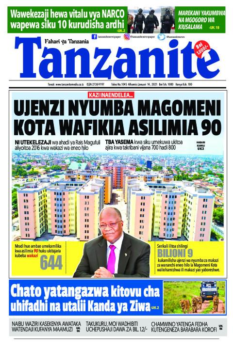 UJENZI NYUMBA MAGOMENI KOTA WAFIKIA ASILIMIA 90 | Tanzanite