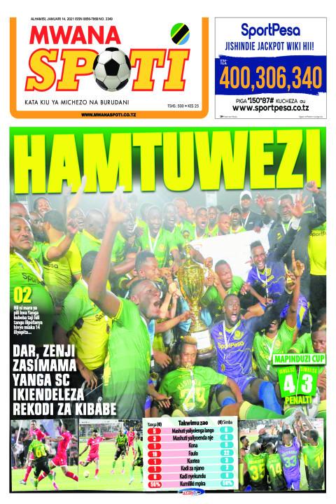 HAMTUWEZI  | Mwanaspoti