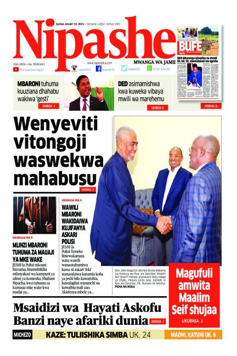 Wenyeviti vitongoji waswekwa mahabusu | Nipashe