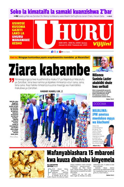 Ziara kabambe   Uhuru