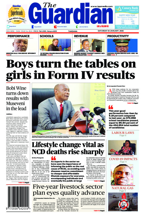 Boys turn the tables on  girls in Form IV results | The Guardian