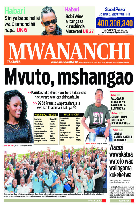 MVUTO,MSHANGAO  | Mwananchi