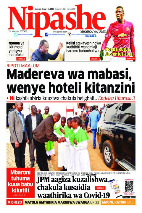 Madereva wa mabasi, wenye hoteli kitanzini | Nipashe