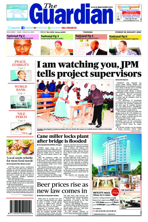 I am watching you, JPM tells project supervisors | The Guardian