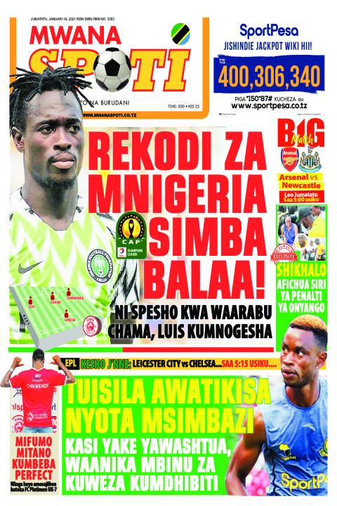 REKODI ZA MNIGERIA SIMBA BALAA!  | Mwanaspoti