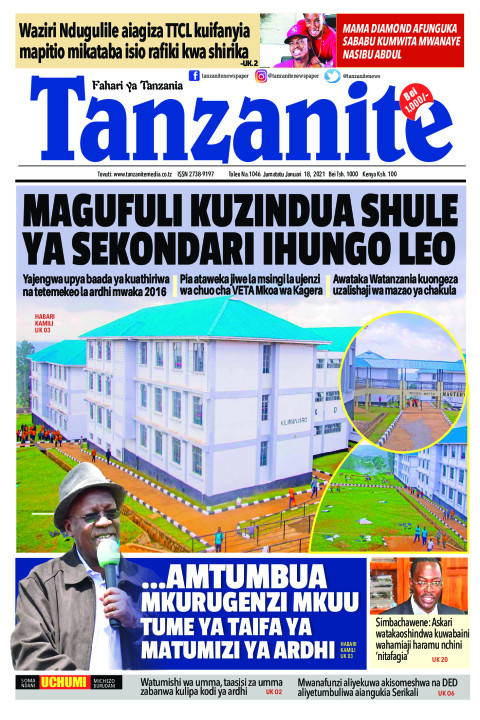 MAGUFULI KUZINDUA SHULE YA SEKONDARI IHUNGO LEO | Tanzanite