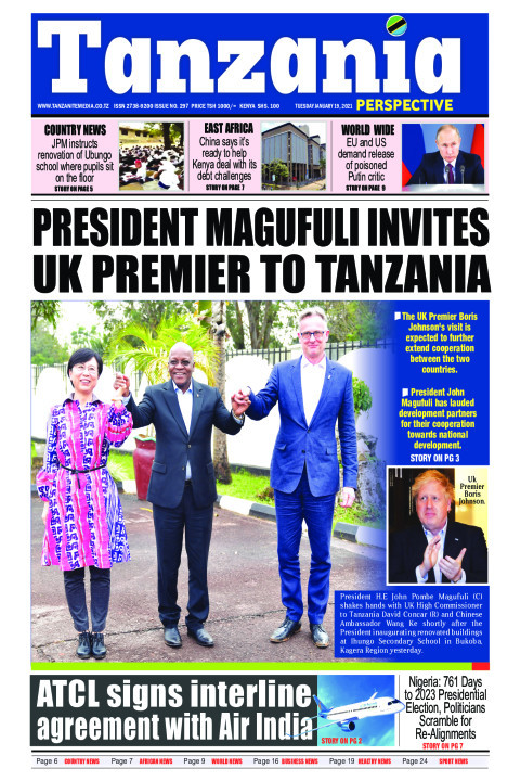 President Magufuli invites UK premier to Tanzania | Tanzania Perspective