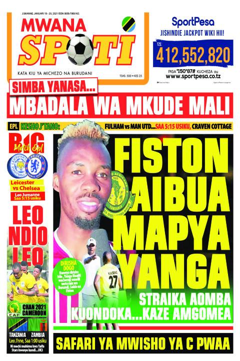 FISTON AIBUA MAPYA YANGA  | Mwanaspoti
