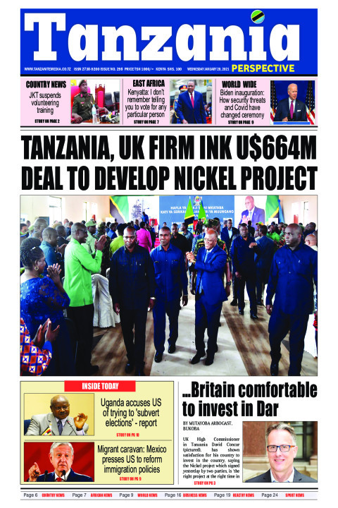 Tanzania, UK firm ink U$664m deal to develop nickel project | Tanzania Perspective