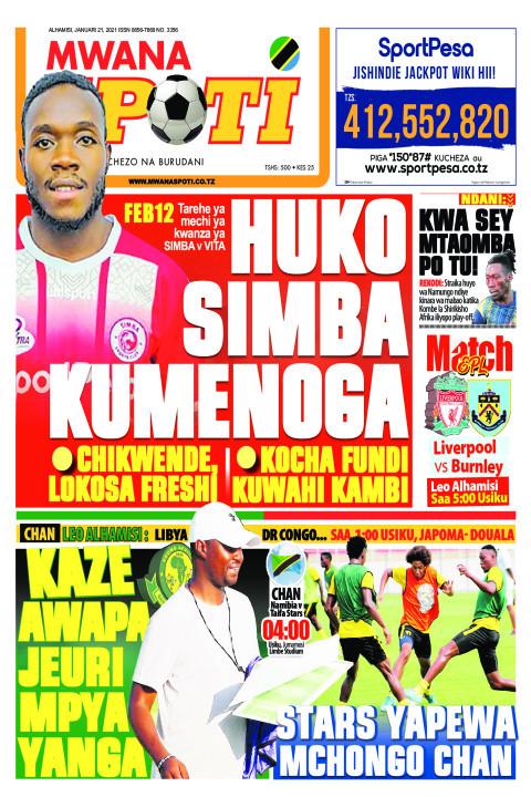 HUKO SIMBA KUMENOGA | Mwanaspoti