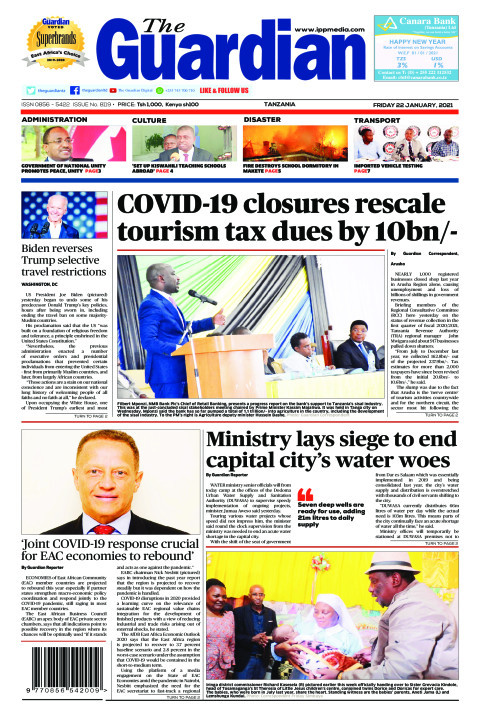 COVID-19 closures rescale tourism tax dues by 10bn/-   The Guardian
