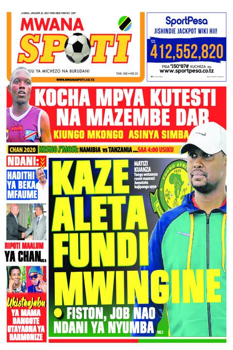 KAZE ALETA FUNDI MWINGINE  | Mwanaspoti