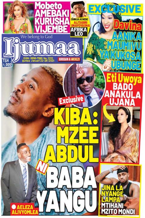KIBA: MZEE ABDUL BABA YANGU | Ijumaa Ijumaa
