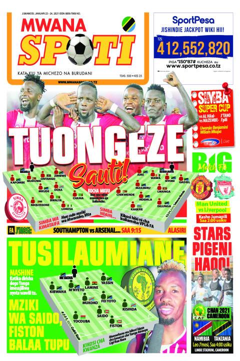 TUONGEZE SAUTI TUSILAUMIANE  | Mwanaspoti