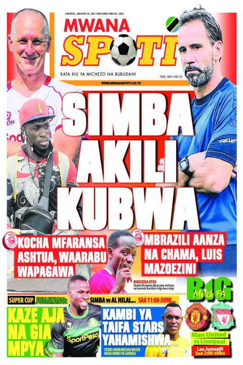 SIMBA AKILI KUBWA  | Mwanaspoti