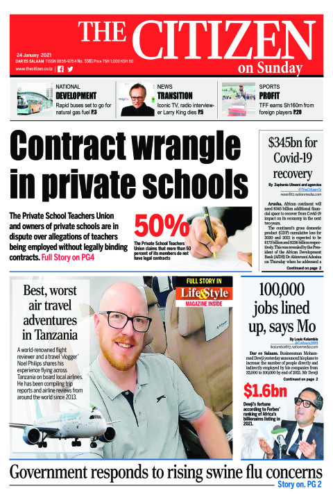 CONTRACT WRANGLE IN PRIVATE SCHOOLS