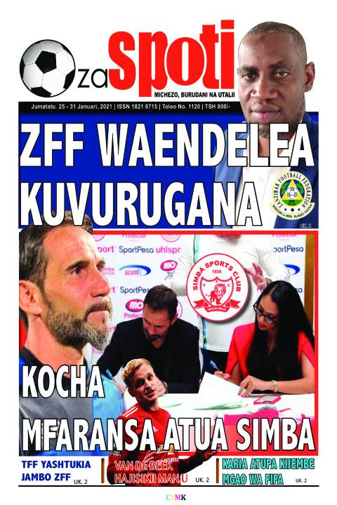 ZFF WAENDELEA FF WAENDELEA KUVURUGANA | ZA SPOTI