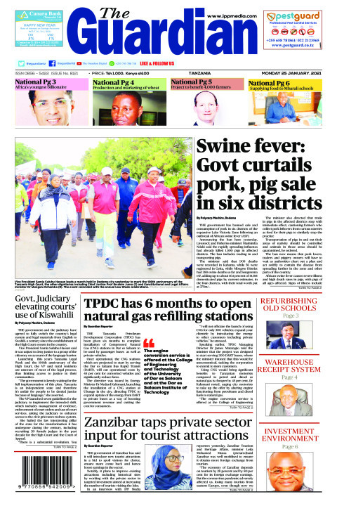 Swine fever: Govt curtails pork, pig sale in six districts   The Guardian