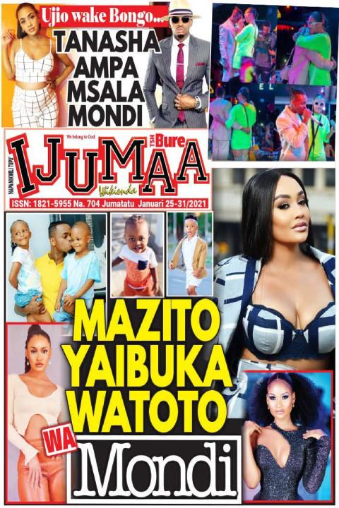 MAZITO YAIBUKA WATOTO WA Mondi | Ijumaa Wikienda