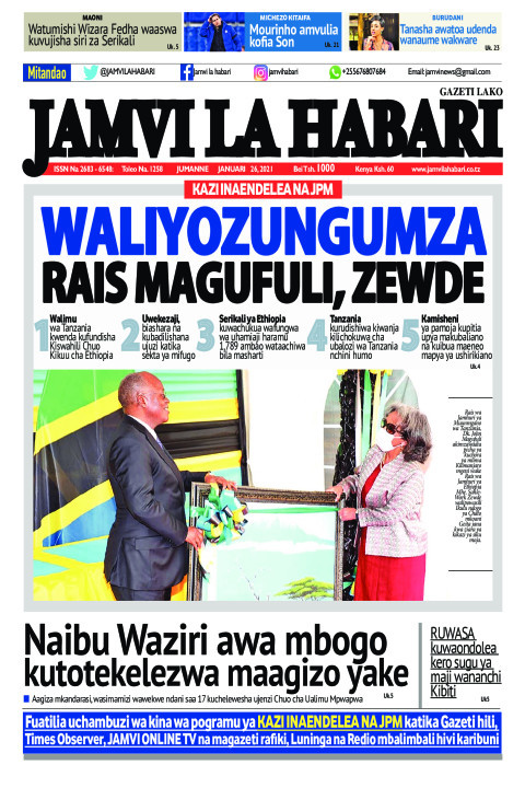 WALIYOZUNGUMZA RAIS MAGUFULI, ZEWDE | Jamvi La Habari