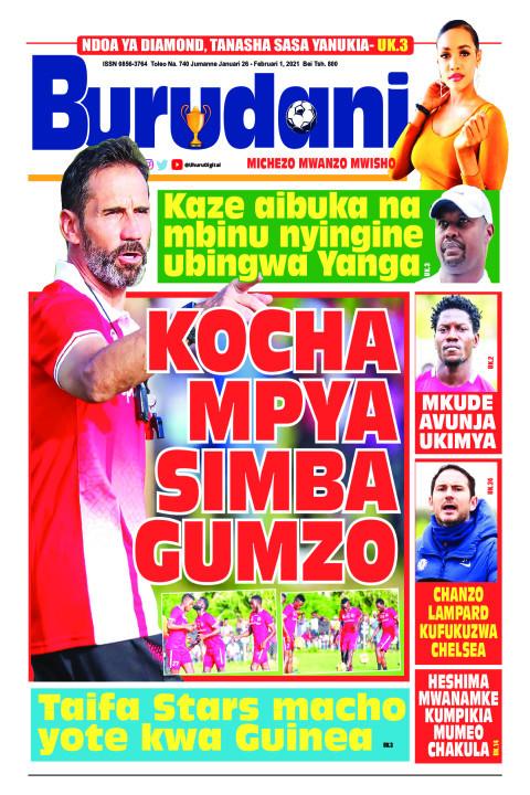 Kocha mpya Simba gumzo | Burudani