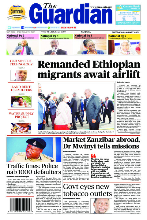 Remanded Ethiopian migrants await airlift   The Guardian