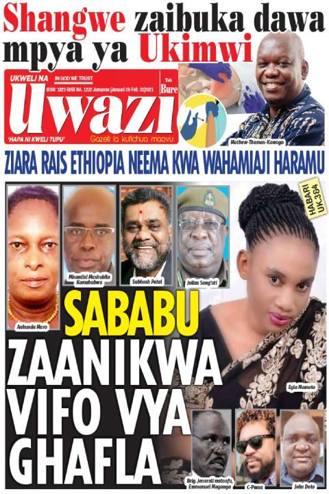 SABABU ZAANIKWA VIFO VYA GHAFLA | Uwazi
