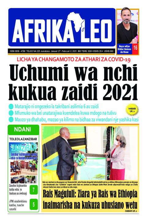 Uchumi wa nchi kukua zaidi 2021 | AFRIKA LEO