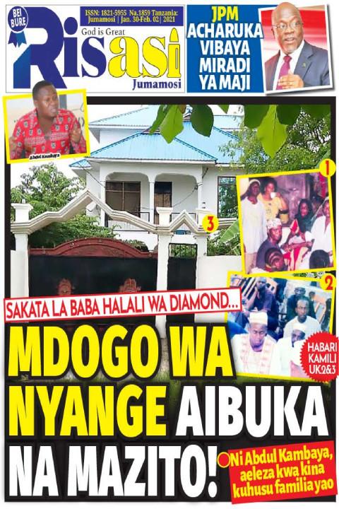 MDOGO WA NYANGE AIBUKA NA MAZITO! | Risasi Jumamosi