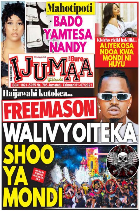 FREEMASON WALIVYOITEKA SHOO YA MONDI | Ijumaa Wikienda