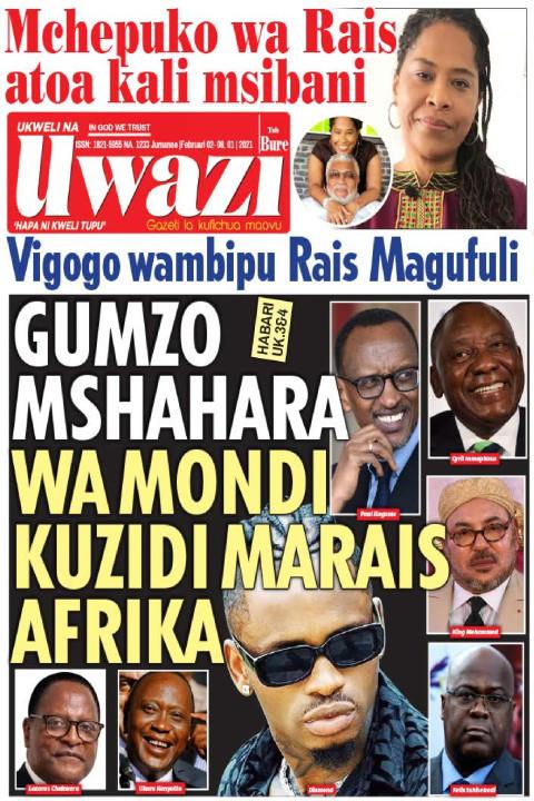 GUMZO MSHAHARA WA MONDI KUZIDI MARAIS AFRIKA | Uwazi