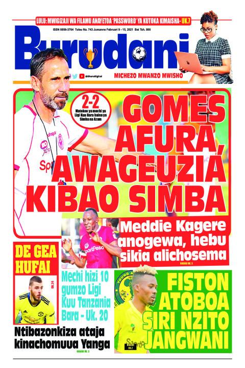 Gomez afura, awageuzia kibao Simba | Burudani