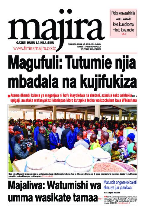 Magufuli: Tutumie njia m'badala na kujifukiza   MAJIRA