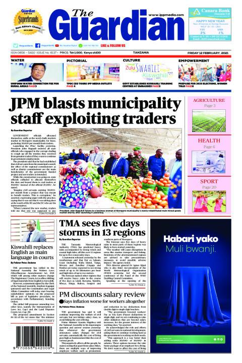 JPM blasts municipality staff exploiting traders | The Guardian