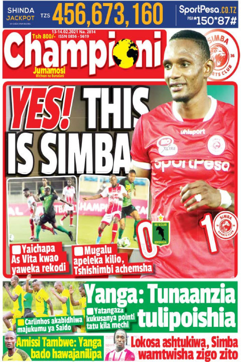 YES! THIS IS SIMBA | Champion Jumamosi