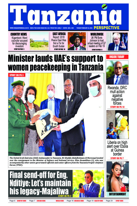 Minister lauds UAE's support to women peacekeeping in Tanzan | Tanzania Perspective