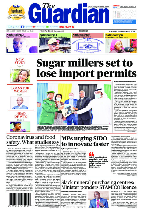 Sugar millers set to lose import permits | The Guardian