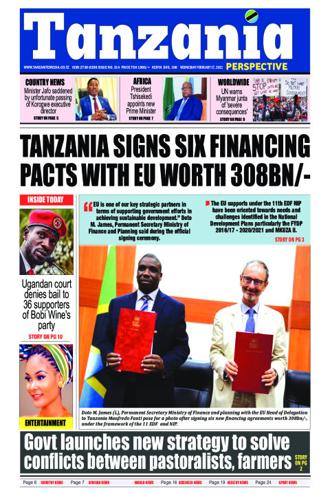 Tanzania signs six financing pacts with EU worth 308bn/- | Tanzania Perspective
