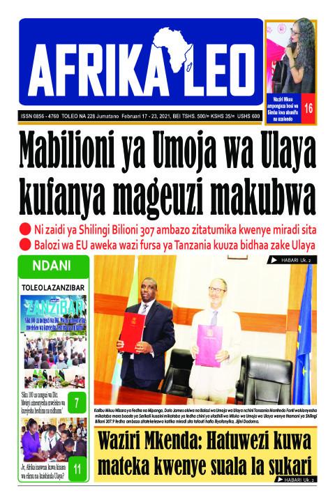 Mabilioni ya Umoja wa Ulaya kufanya mageuzi makubwa | AFRIKA LEO